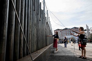 Lucia vinaschi vernissage open fence